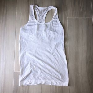 COPY - Lulu lemon white racerback tank!!